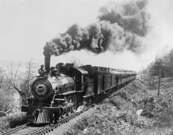 North Coast Limited Passenger ServicePage: ROLLING STOCKThe first run of the North Coast Limited passenger service in June 1900